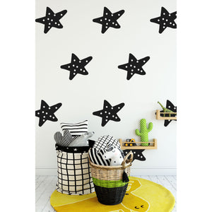 12 Decorative Spot Star Wall Stickers
