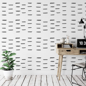 35 Jagged Line Wall Sticker Shapes