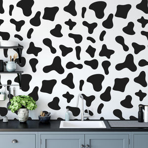 Cow Spots Wall Stickers