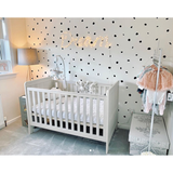 Irregular Polka Dot Wall Stickers