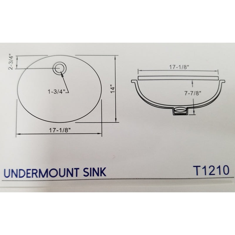 Drop In or Under mount Sink Tecsun