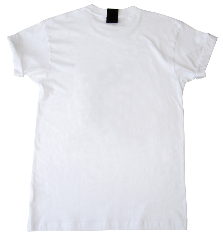 "Short sleeve cotton jersey t-shirt with ""Hug"" print"