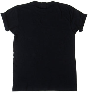 Black t-shirt with print