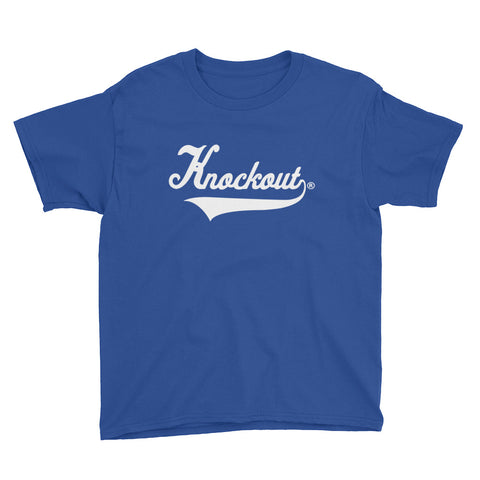 Knockout Kids Unisex Classic White Tee (Various Colorways)