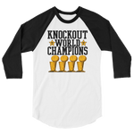 Ko World Champs 3/4 Baseball Tee