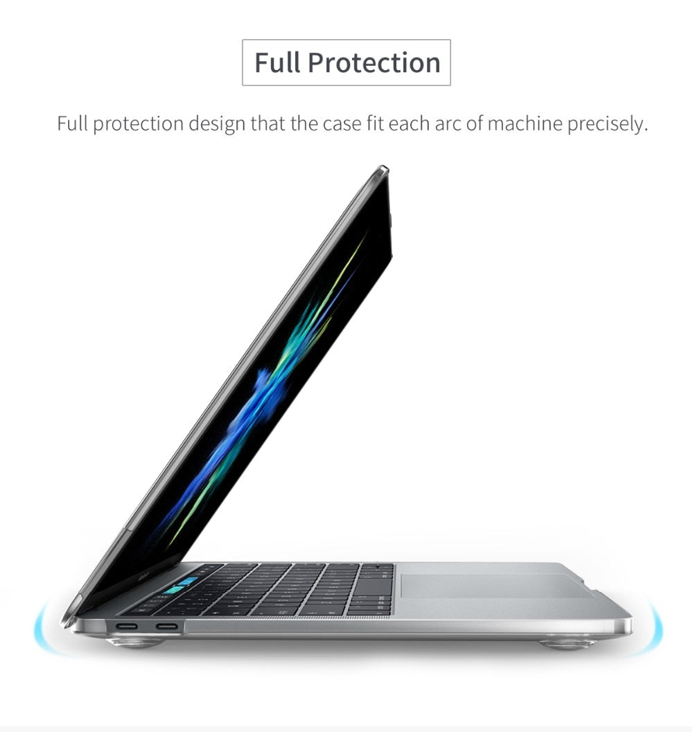 Apple Crystal Clear Laptop Case Gadget 20 Baseus Air Series Macbook Pro 13 Inch 2016 Transparent Hard