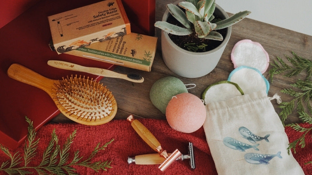 Net Zero co beauty gifts for holiday