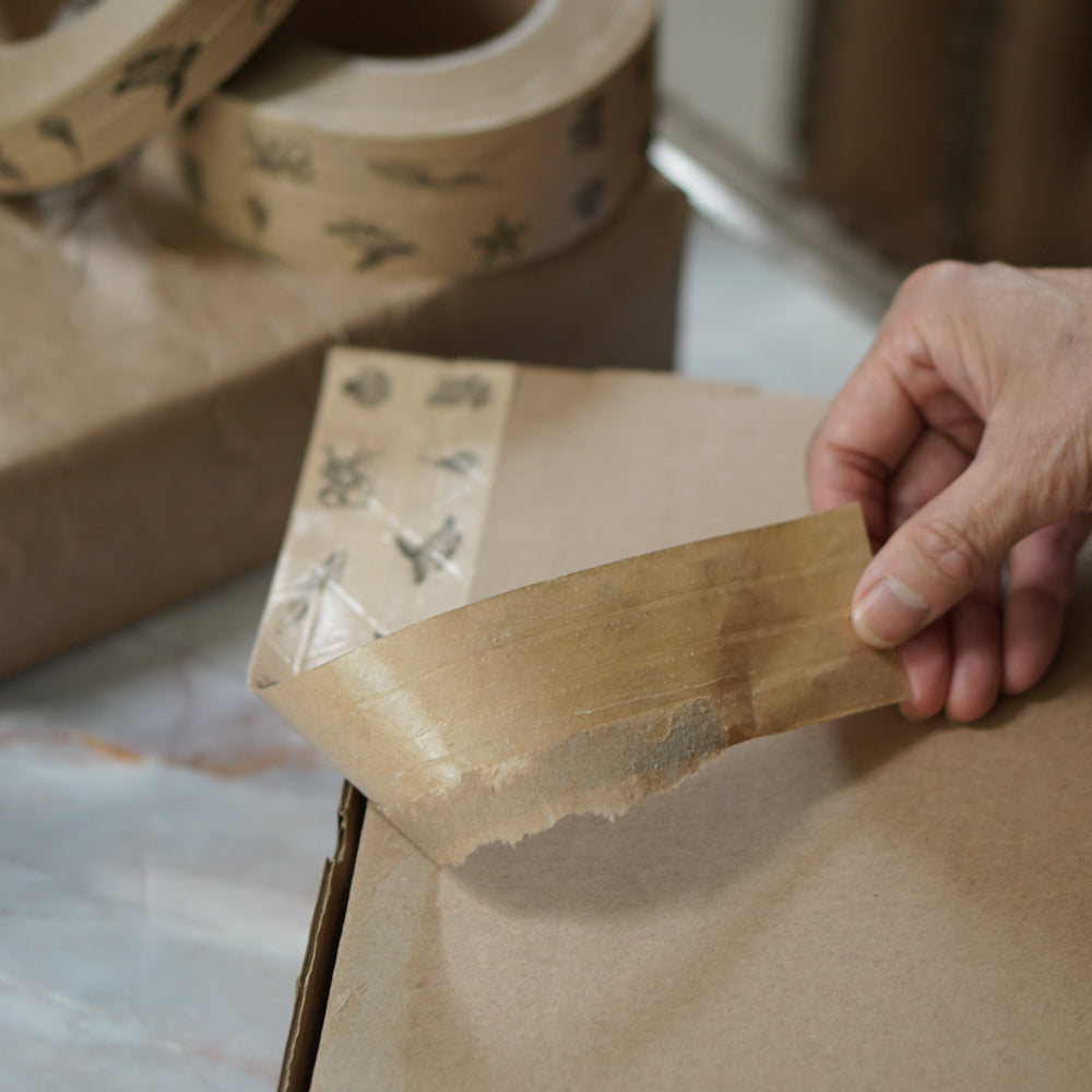 Brown Paper Tape  Reinforced Kraft Paper Tape  Self Adhesive