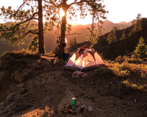 Camp out under the stars in a beautiful, natural location close to home