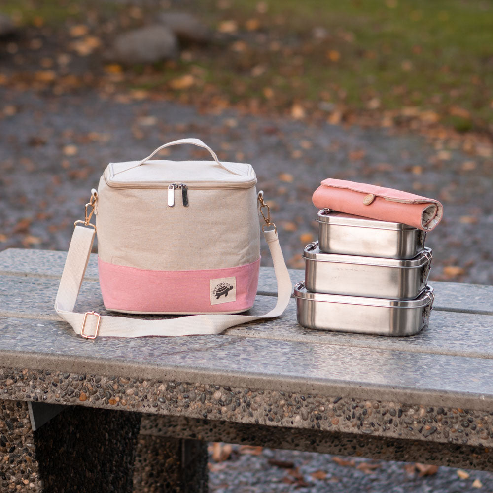 Munchie Bag - Insulated Lunch Bag With Removable Shoulder Strap | Net Zero Co.