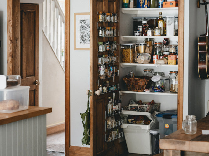 Prepare Your Pantry Stay Organized