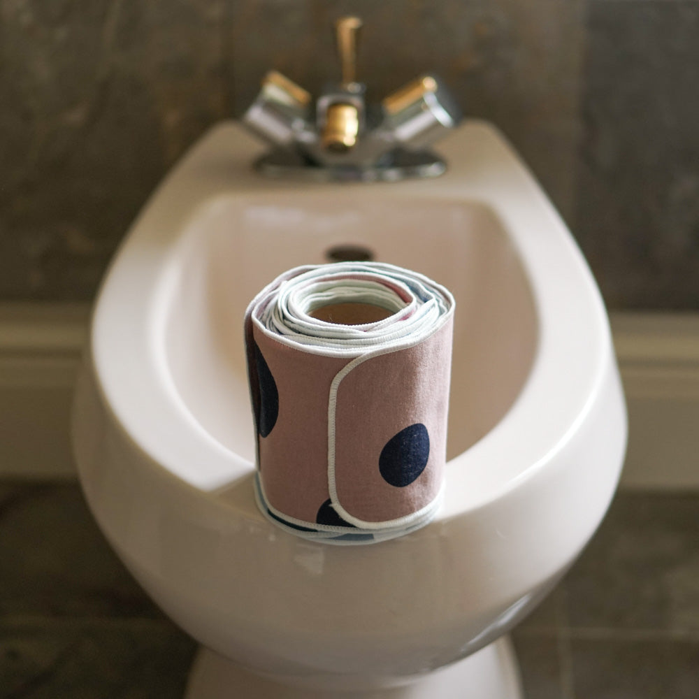Washable Toilet Paper  Family Cloth  Reusable Toilet Paper Roll