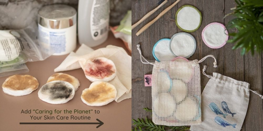 12 Piece Bamboo Cotton Rounds with Laundry Bag and Travel Pouch