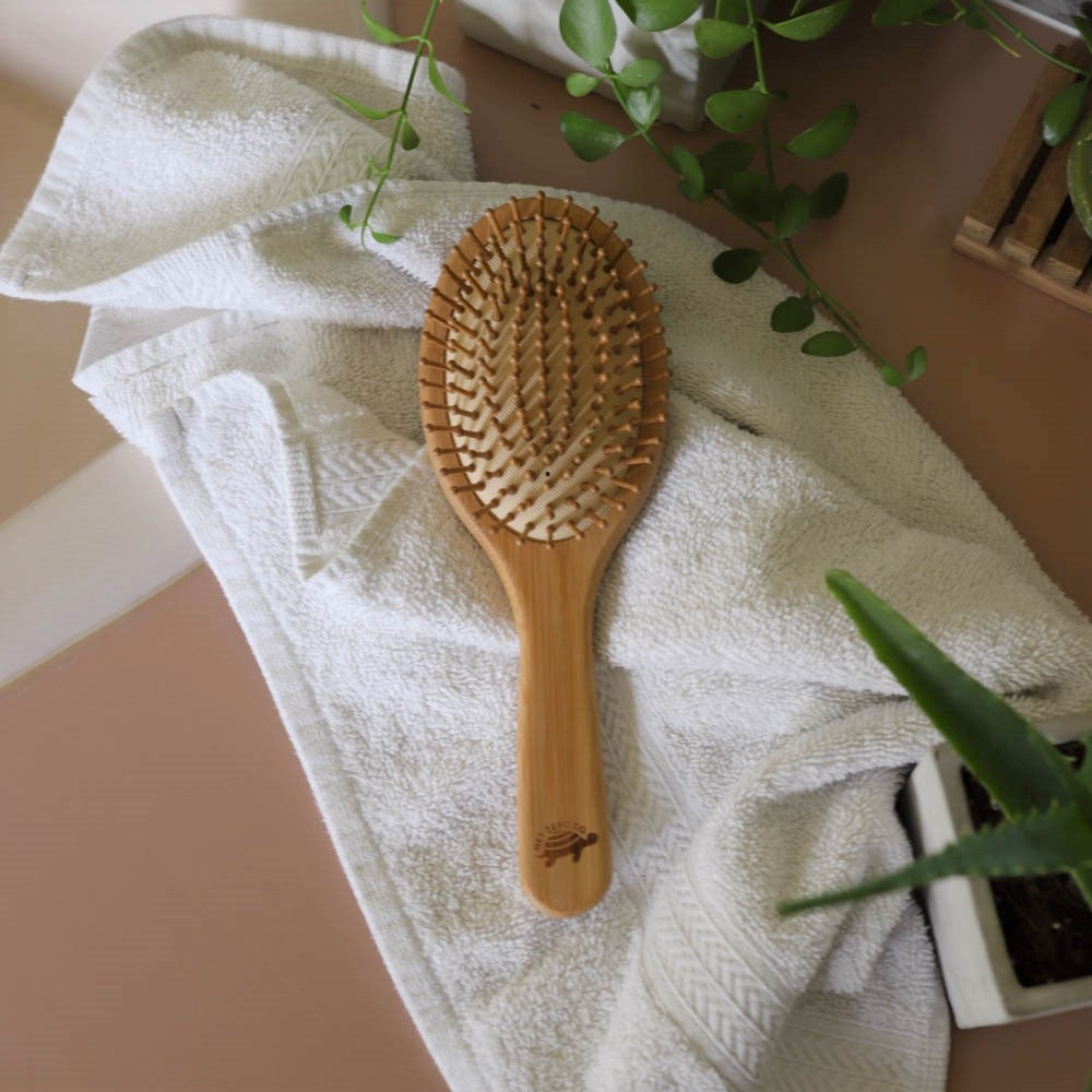 Bamboo Hair Brush | Buy Eco-Friendly Bamboo Hair Brush
