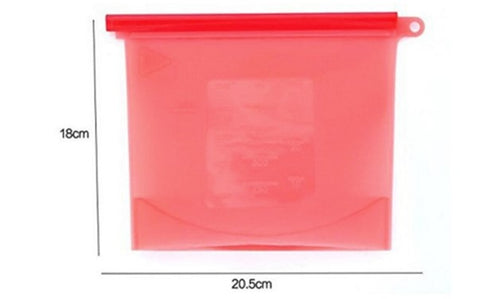 silicone storage container 1000ml 4 cups