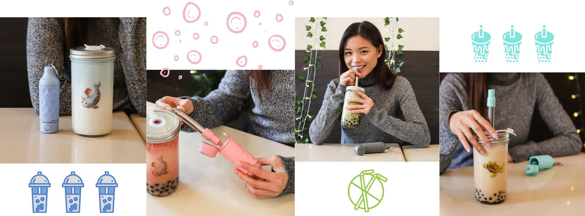 eco friendly boba ware for Bubble tea shop owners