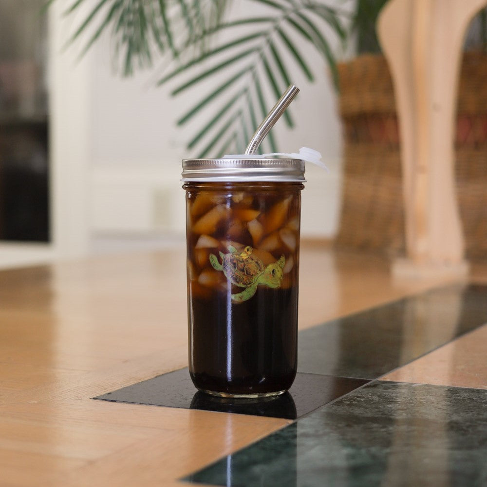 Reusable Bubble Tea Cup | Buy Bubble Tea Mason Jar