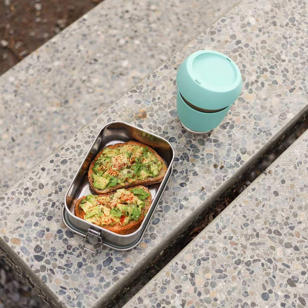 net zero co. petite munchie box with avocado toast