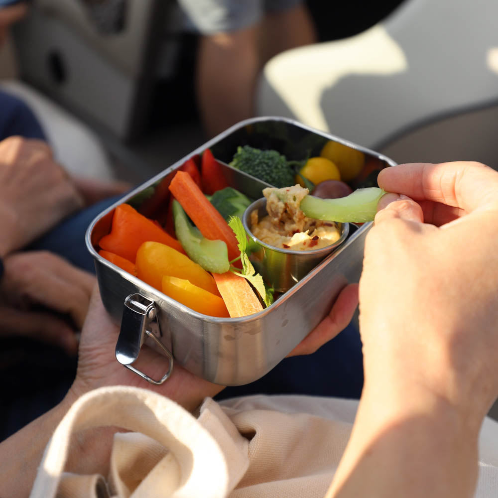 petite munchie box lifestyle - dipping veggies