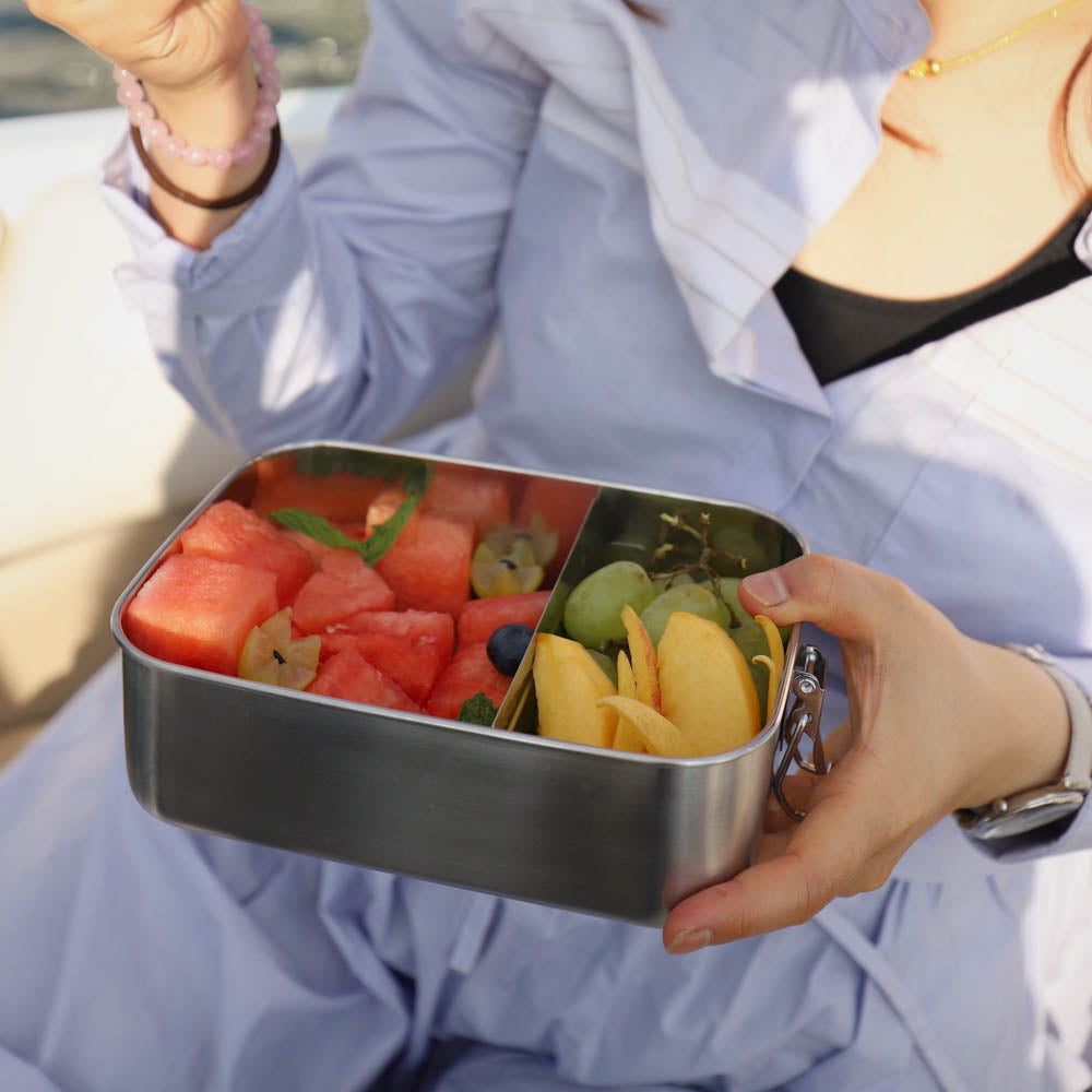 Small Stainless Steel Bento Box Leak-Proof | Eco-Friendly Lunchbox