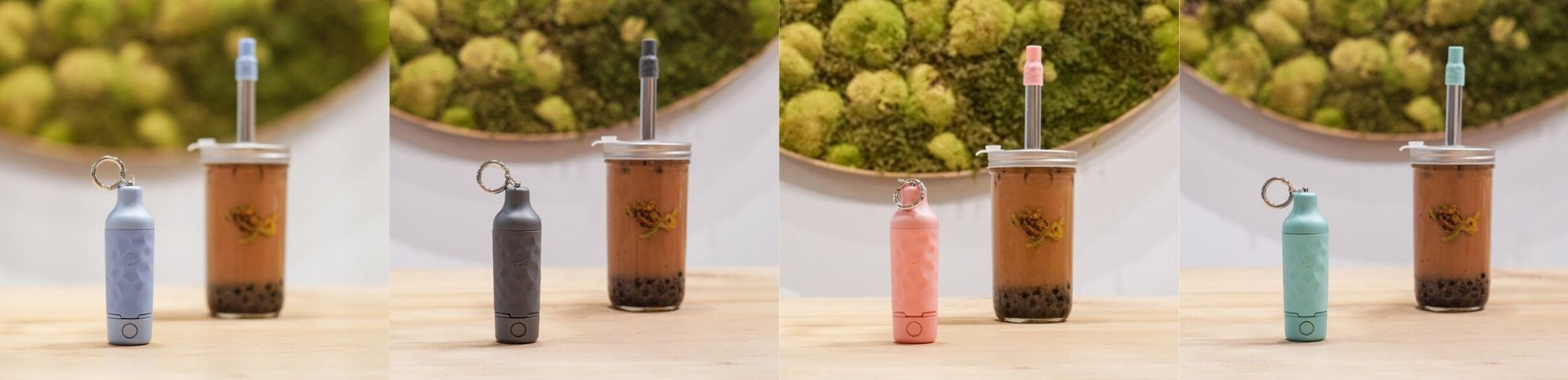 reusable bubble tea straw for boba retailers