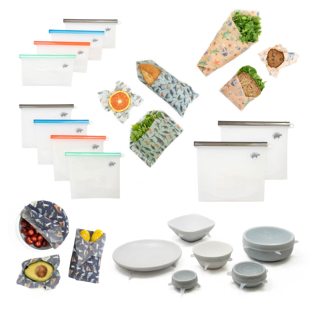 Sustainable Kitchen Food Storage Bundle