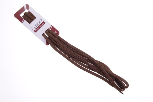 Shoelaces choco brown - for Murten Brown, Zug 20 Brown