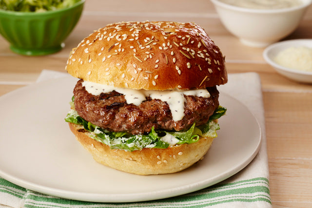 Monday Munchies: Caesar Salad Burger