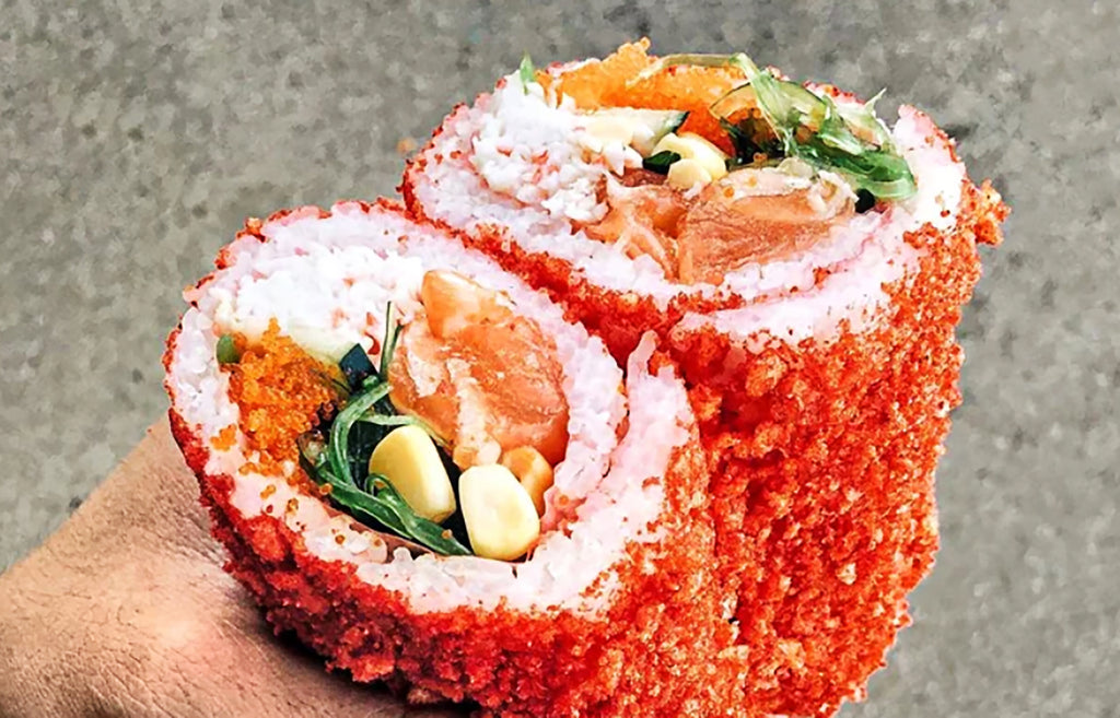 Monday Munchies: Cheetos-Infused Sushi Burrito