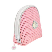 EVA / Silicone Cosmetic Bag Pink