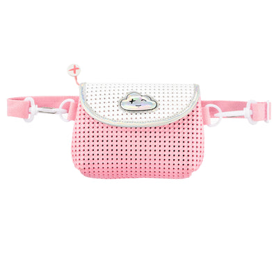 EVA / Silicone Convertible Kids Fanny Pack Pink