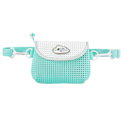 EVA / Silicone Convertible Kids Fanny Pack Turq Green