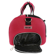 Roma Duffel Bag Sweet Pink Side View A.jpg