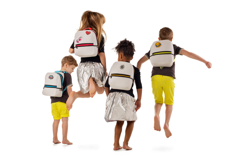 kids wearing Stark Kids Light Backpack.jpg