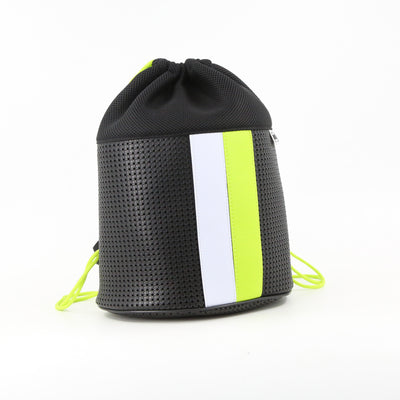 Sophy Ergonomic Drawstring Backpack Neon Lime