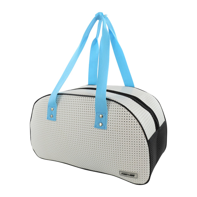 Kids Ultra Light Travel Bag With Shoe Compartment Blue