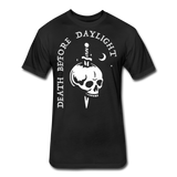 Death Before Daylight (White Print) - black