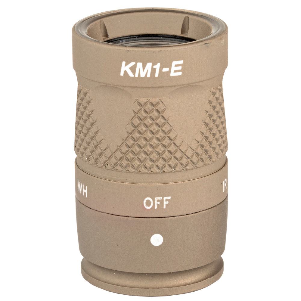 Surefire KM1-E (Single Cell White/IR Head) Black & Tan