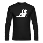 Long Sleeve Mistress Of The Dark (White Print)