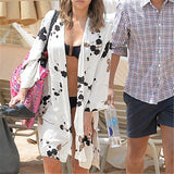 Kimono Beach Cover Up  - Print - ONE SIZE