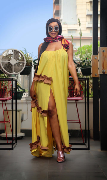 IDIA YELLOW DRESS
