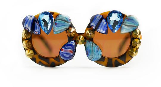 Cheetah Teardrops- Couture Eyewear