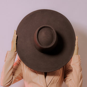 The BROWN VITX HAT