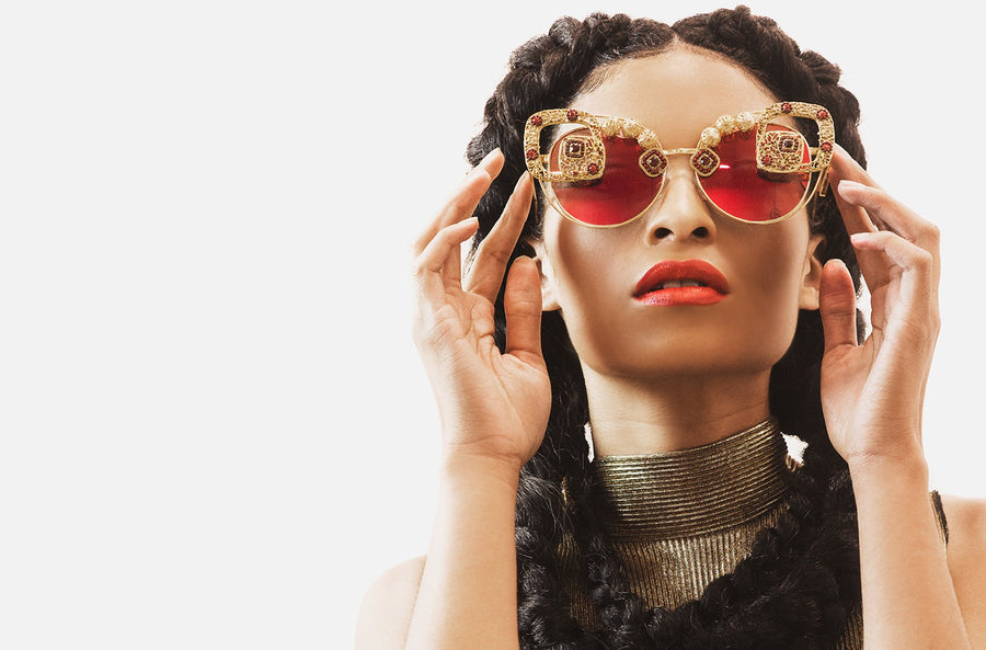 Moroccan Vibes- Couture eyewear