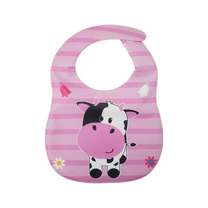 Baby bib and placement set