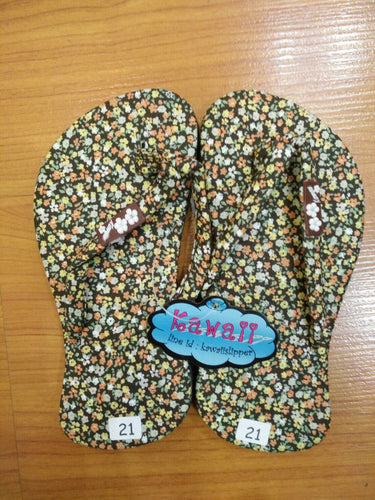 Kawaii cotton sandals
