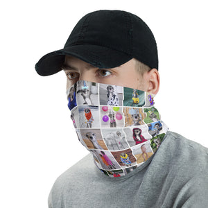 Multiple Tikas Neck gaiter