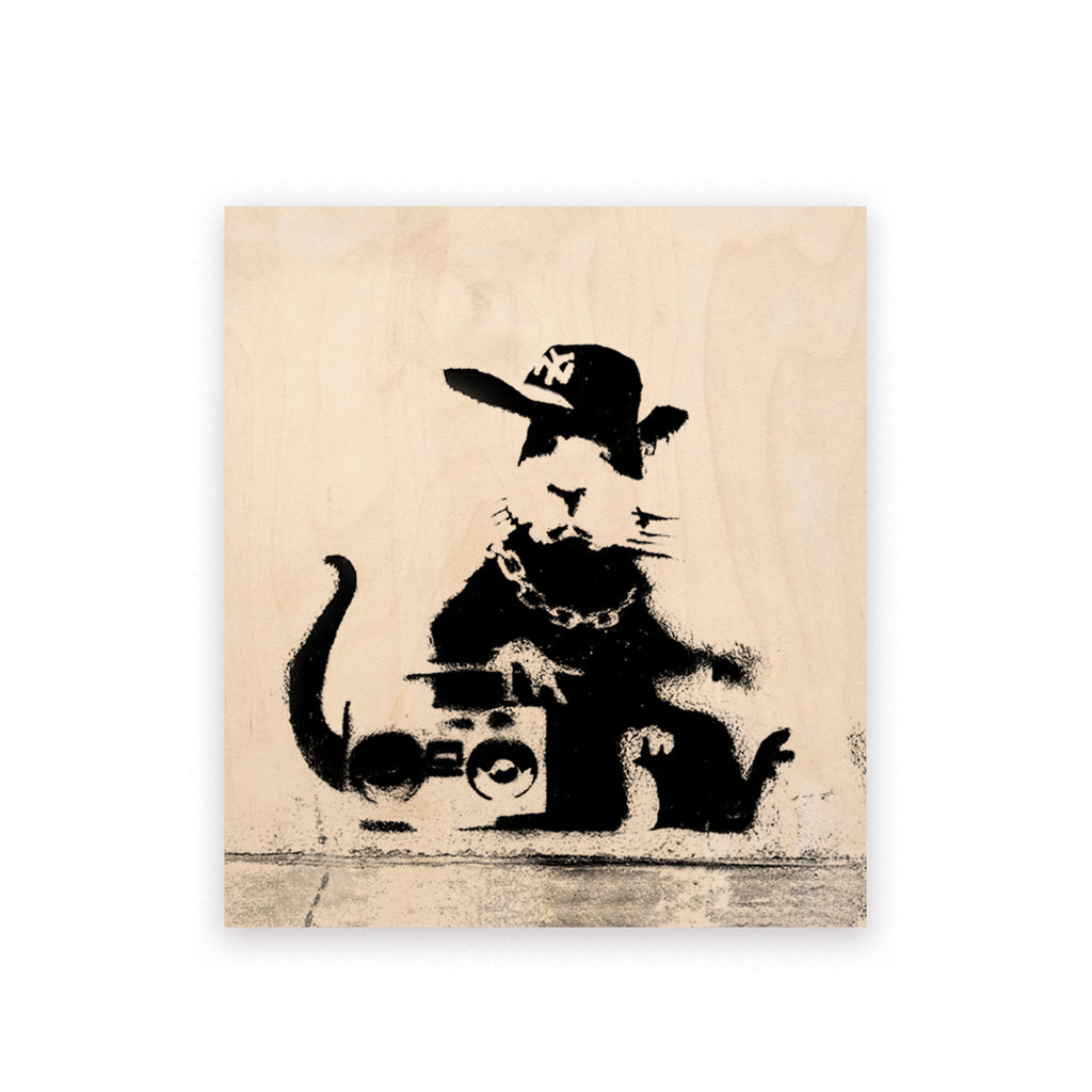 BANKSY - Hiphop Rat