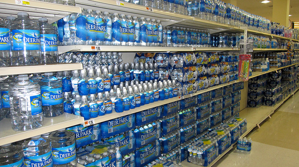 Bottled Water Stack