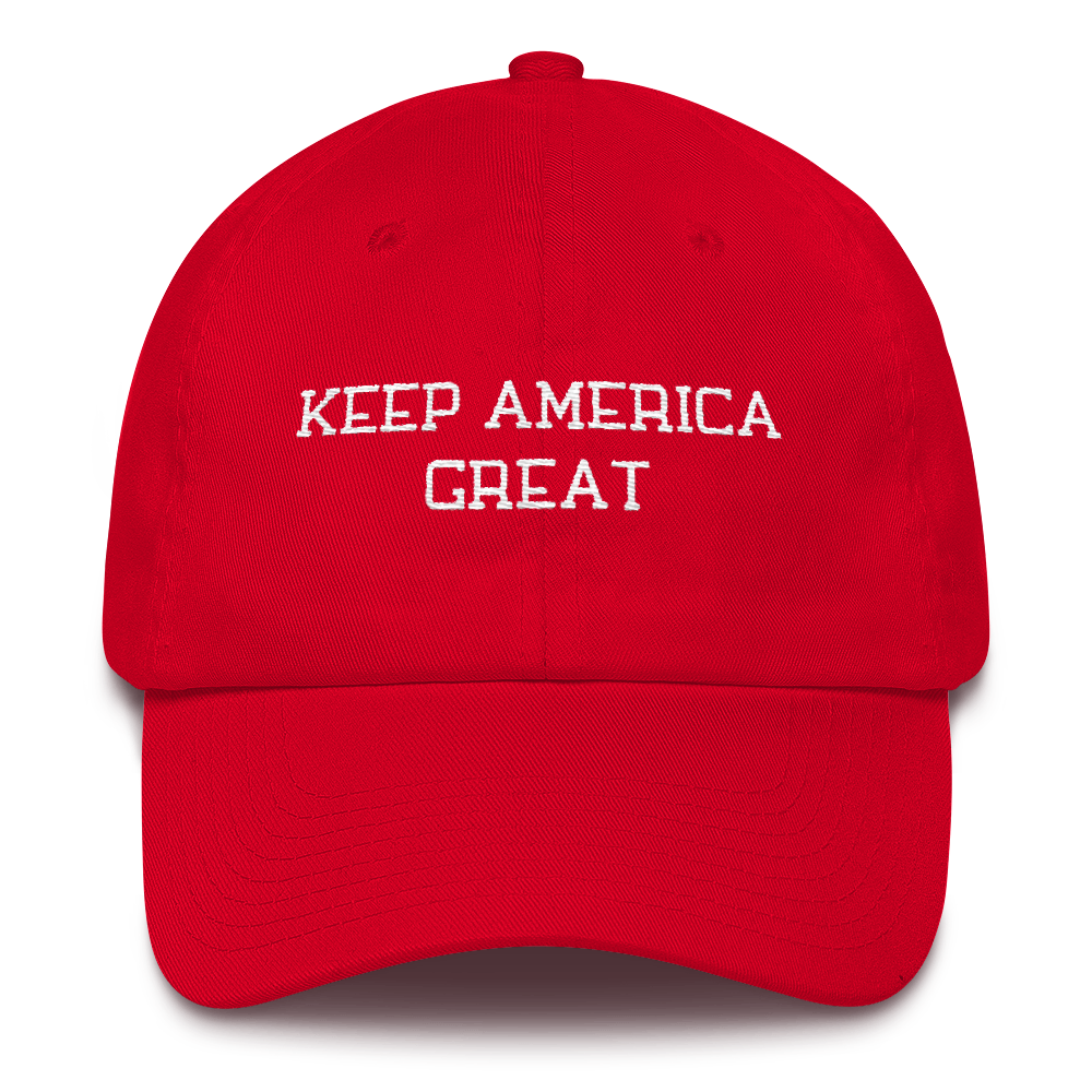 2020 Presidential Run Keep America Great Embroidered Hat - Made in the USA